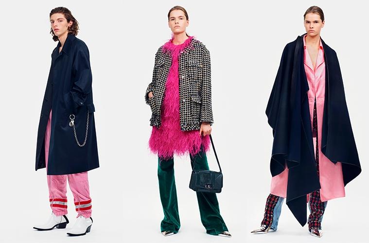 Обзор коллекции Calvin Klein 205W39NYC Pre-Fall 2019
