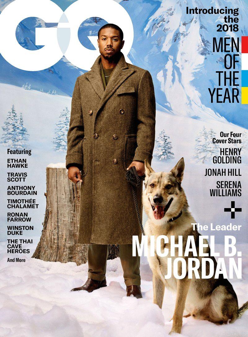 GQ Человек Года 2018 Майкл Б. Джордан