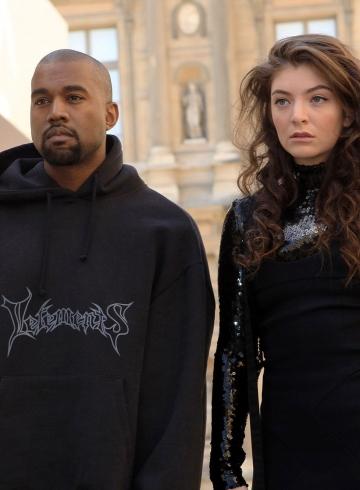 Lorde обвинила Канье Уэста и Kid Cudi в плагиате своего шоу