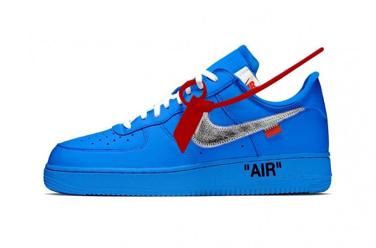 Релиз Off-White x Nike Air Force 1 «MCA» может пройти в MOCA
