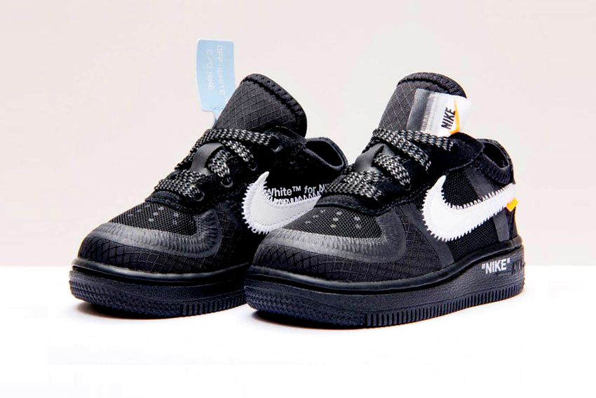 Где купить Off-White x Nike Air Force 1 «Black»