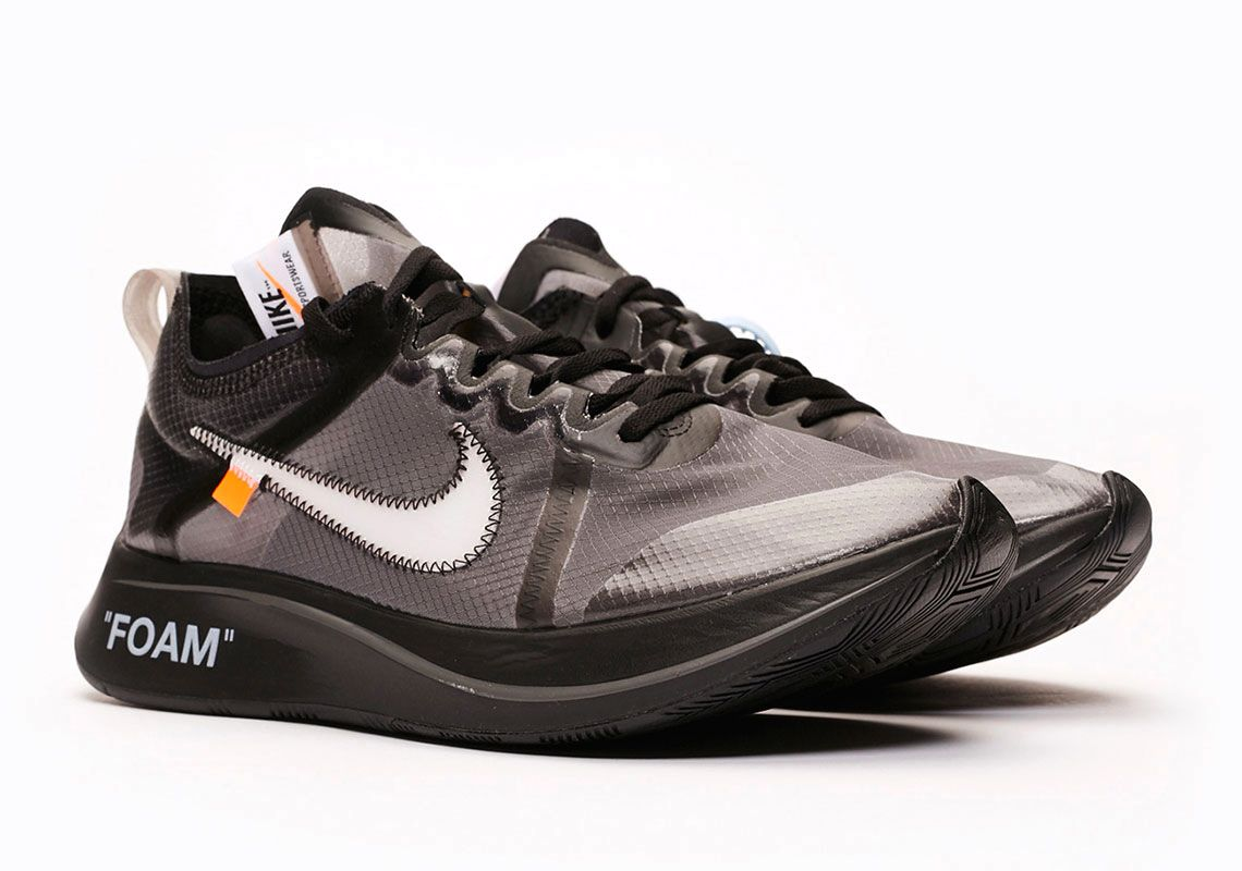 Где купить Off-White x Nike Zoom Fly SP «Black»