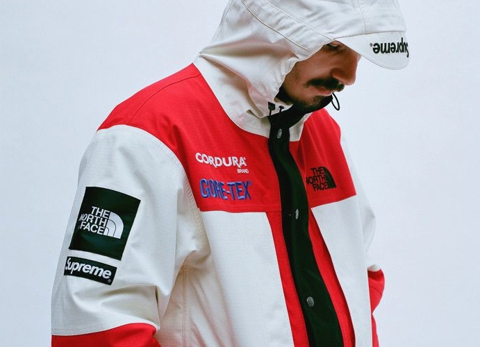 Коллекция Supreme x The North Face Fall/Winter 2018