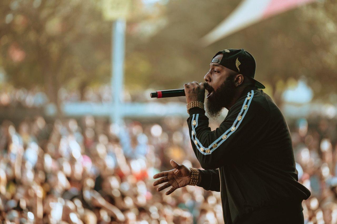 Трэвис Скотт организовал в Хьюстоне Astroworld Festival