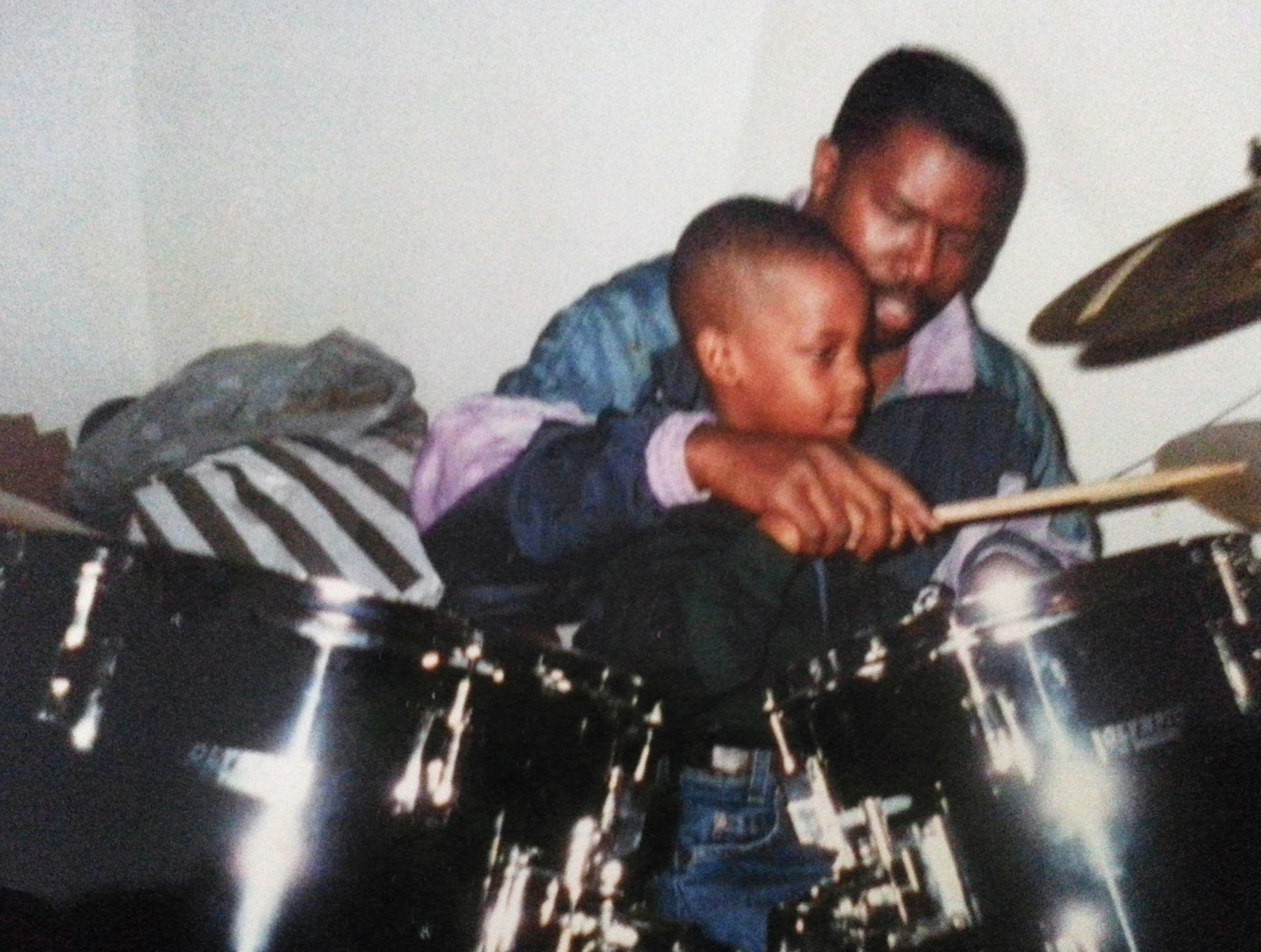 Скотт и его отец, барабанщик. Интервью для Rolling Stone