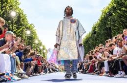 Выход в космос: межпланетное вдохновение модной индустрии. Louis Vuitton Spring 2019