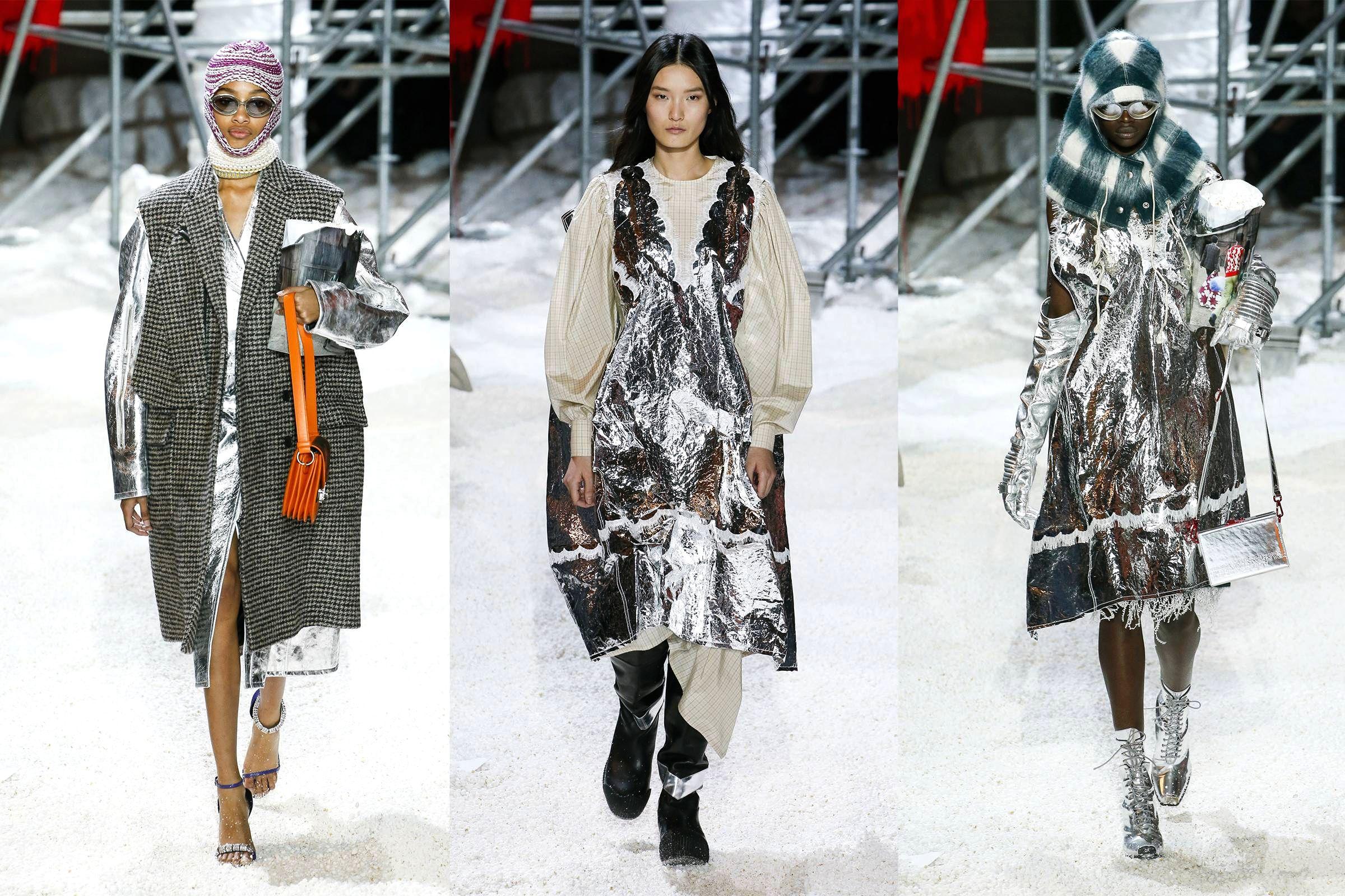 Космическая мода в коллекции Calvin Klein Fall/Winter 2018 Ready-to-Wear
