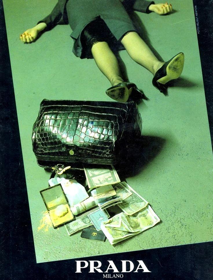 Рекламная кампания Prada 1986