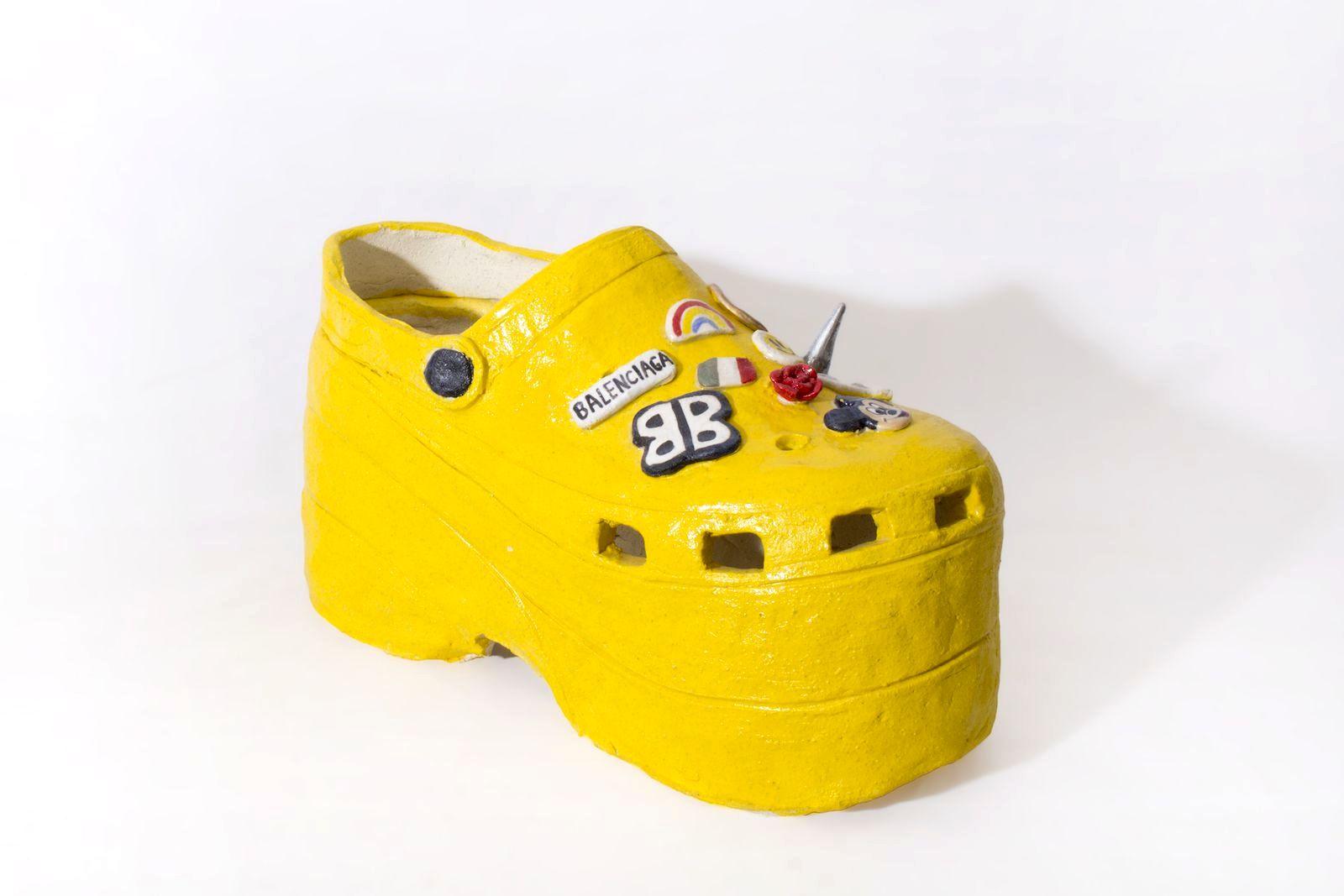 Познакомьтесь со скульптором обуви Дианой Рохас, Crocs x Balenciaga