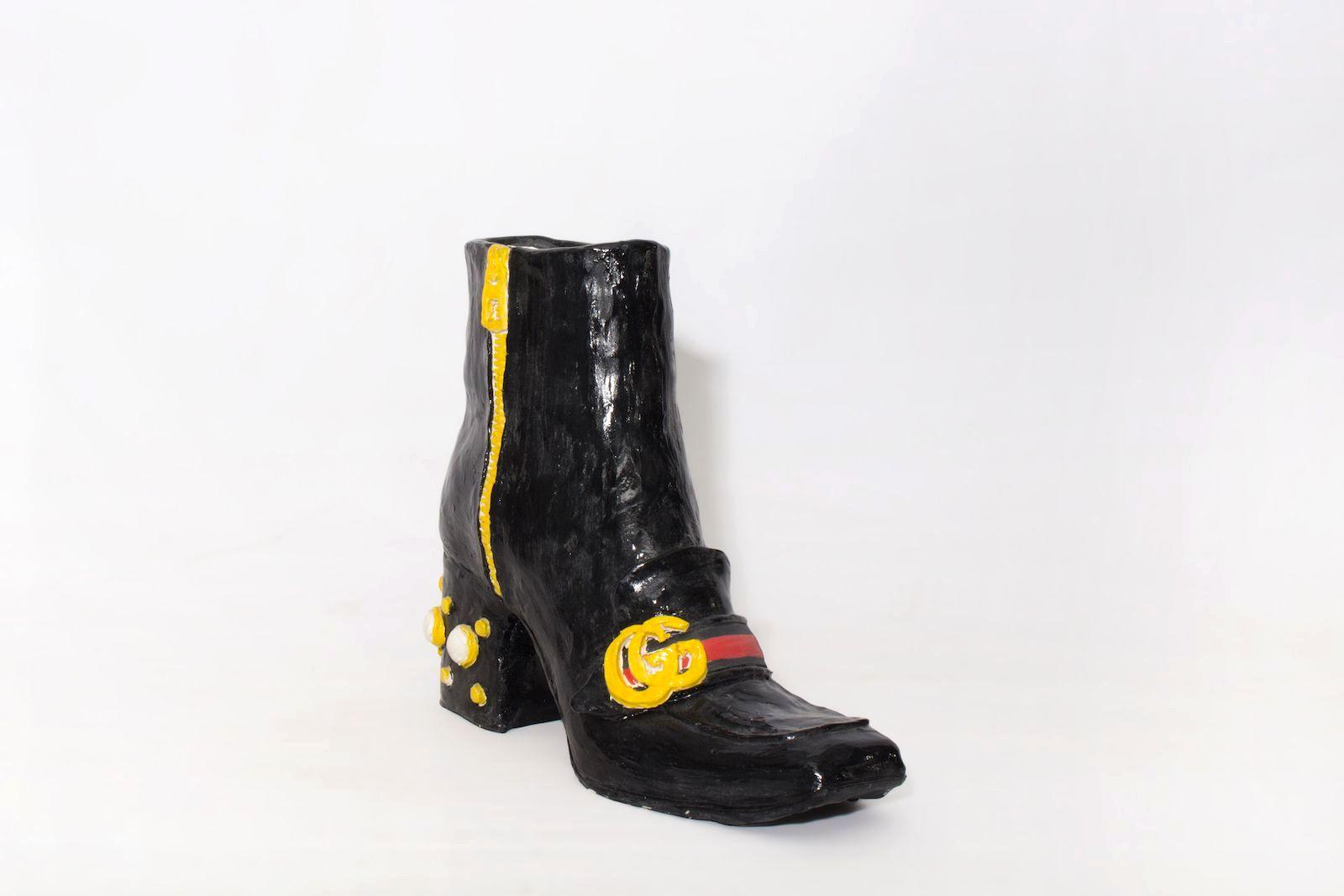 Познакомьтесь со скульптором обуви Дианой Рохас, сапоги Gucci