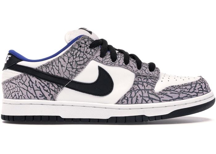 Nike Dunk SB Low Supreme White Cement - самые дорогие кроссовки