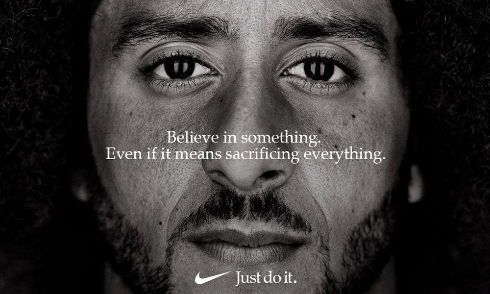 Рекламная кампания Nike с Колином Каперником