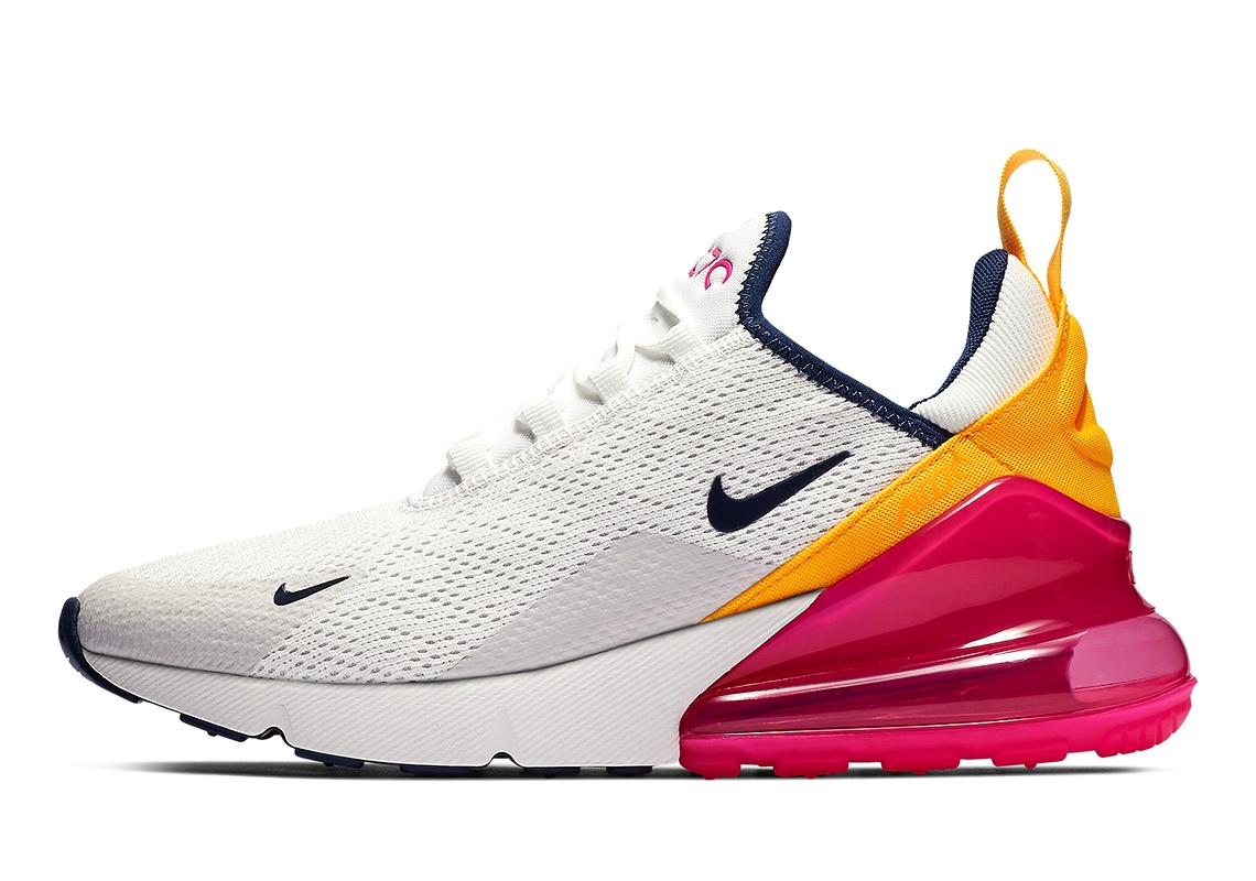 Новая яркая расцветка Nike Air Max 270
