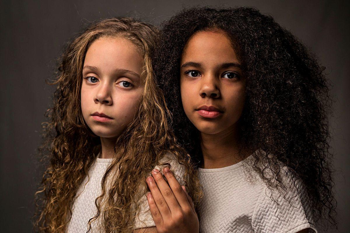 Фотография Робина Хэммонда для обложки выпуска журнала National Geographic о расе, 2018.