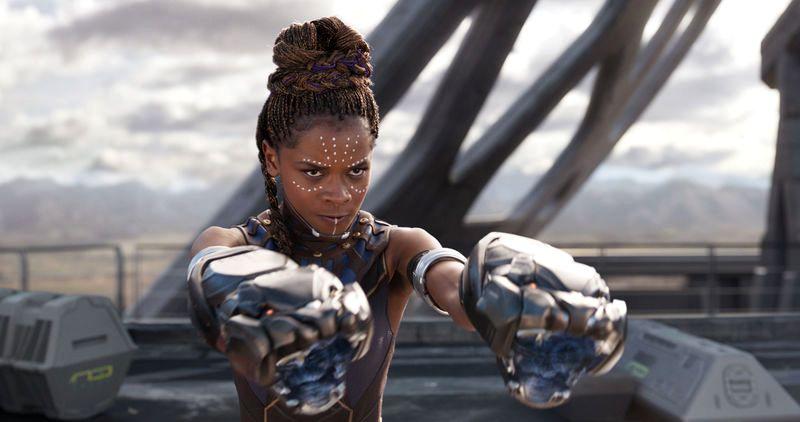 Кадр из фильма Marvel Studios «Черная пантера»