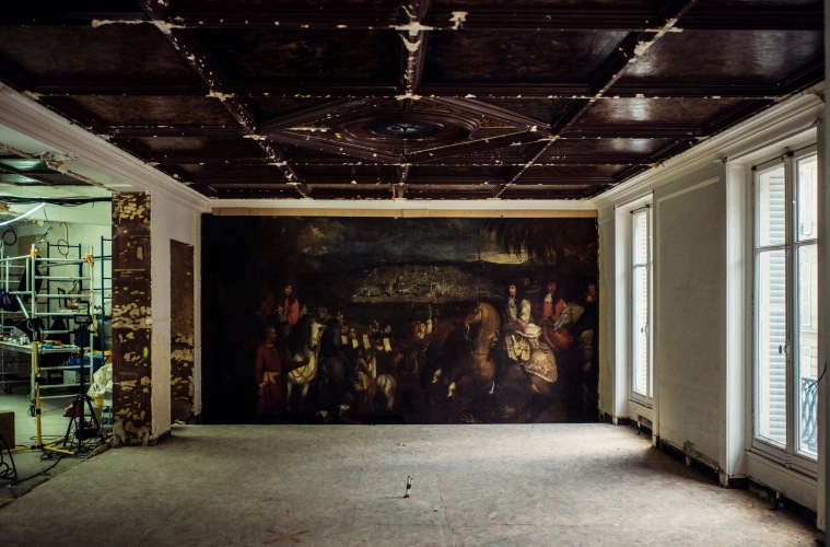 В новом бутике Oscar de la Renta обнаружена картина XVII века