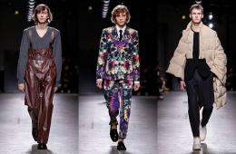 Dries Van Noten Fall/Winter 2019 Menswear - обзор коллекции