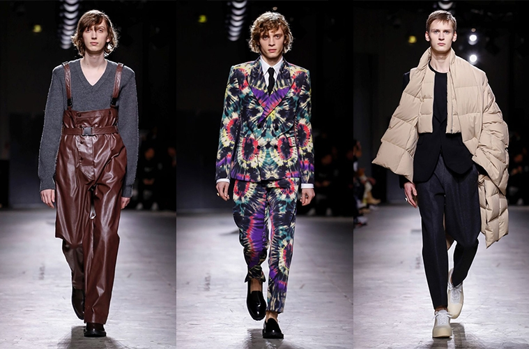 Dries Van Noten Fall/Winter 2019 Menswear - обзор коллекции