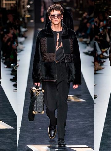Fendi Fall/Winter 2019 Menswear - обзор коллекции