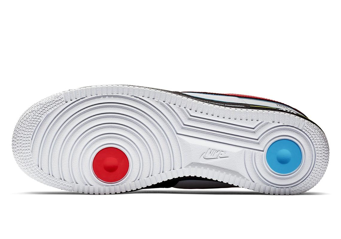 Модель Nike Air Force 1 Racing, вдохновленная гонками