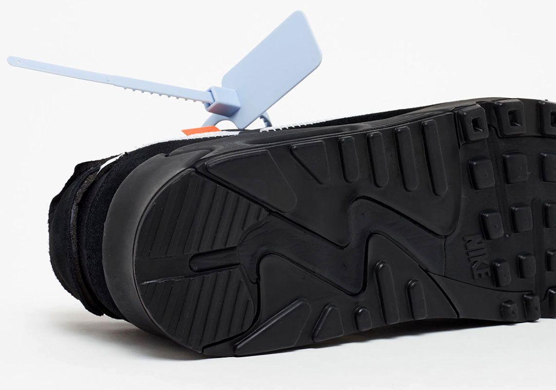 Где купить Off-White x Nike Air Max 90 «Black»
