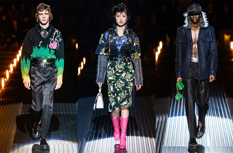 Prada Fall/Winter 2019 Menswear - обзор коллекции