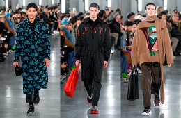 Valentino Fall/Winter 2019 Menswear - обзор коллекции