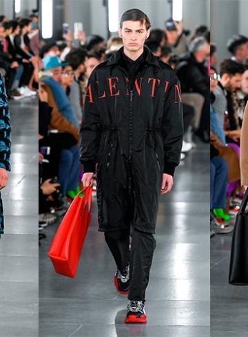Valentino Fall/Winter 2019 Menswear - обзор коллекции