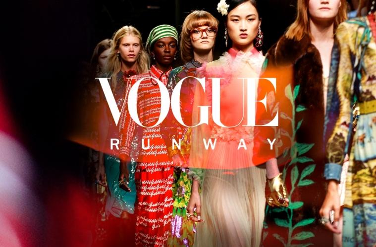 Vogue Runway публикует коллекции некоторых брендов за деньги