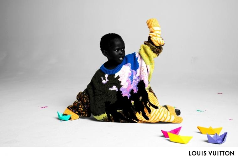 Абло представил первую рекламную кампанию для Louis Vuitton