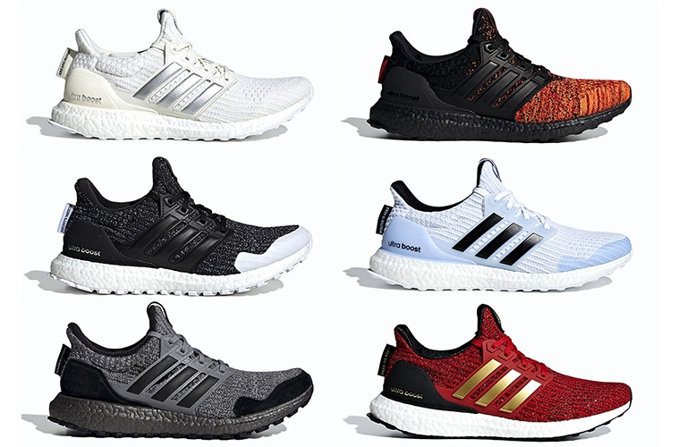 Вся коллекция Game Of Thrones x adidas UltraBOOST