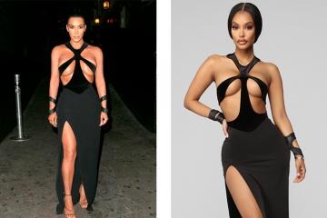 Ким Кардашьян раскритиковала быструю моду за подделки дизайнерских образов