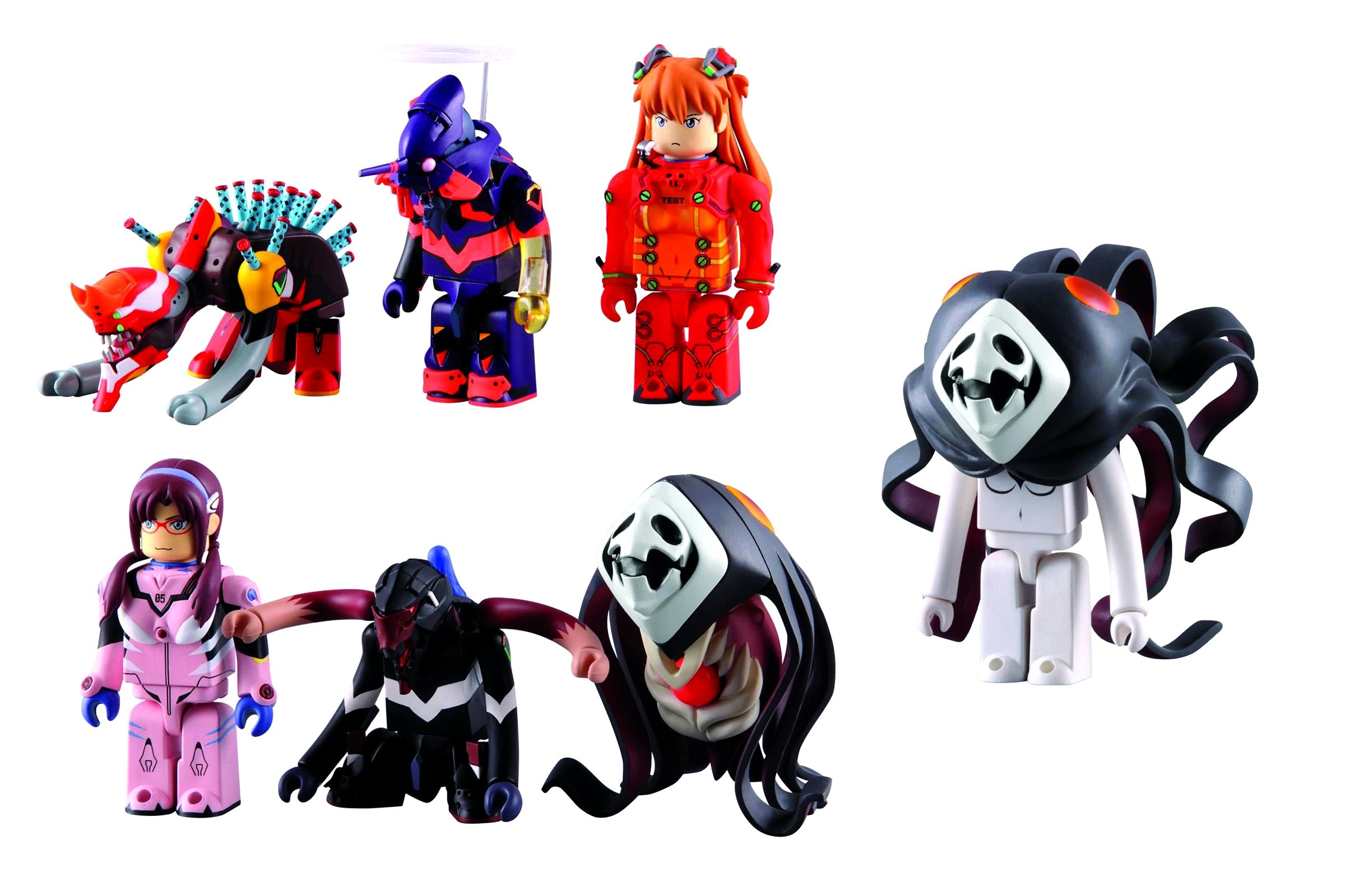 Переизданный набор игрушек MediCom ToyNeon Genesis Evangelion