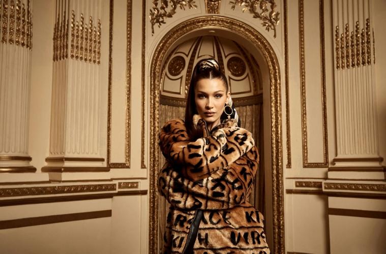 Коллаборация KITH x Versace при участии Беллы Хадид