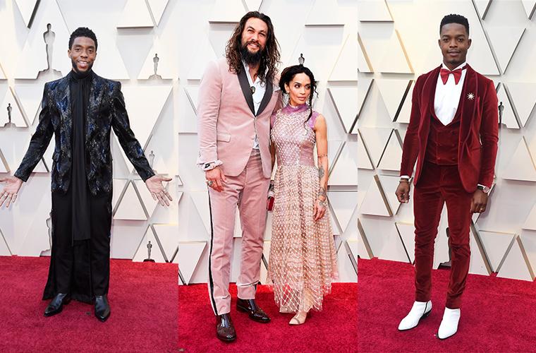 Как мужчины переписали правила стиля на премии Оскар-2019