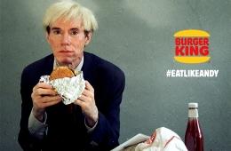 Супербоул LIII - лучшие рекламные ролики. Энди Уорхол в рекламе Burger King