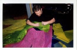За кулисами ярко-неоновой осенней коллекции Craig Green