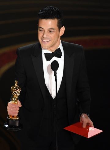 Рами Малек на премии Оскар-2019