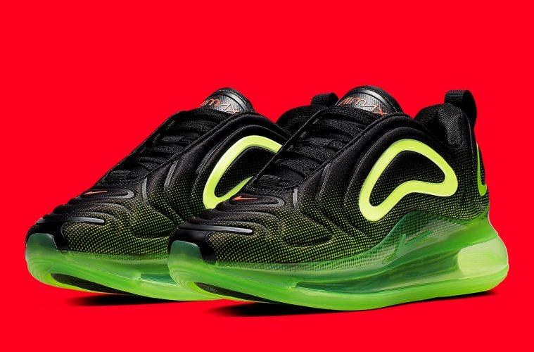 Nike Air Max 720 «Volt» - бренд выпустит кроссовки в мужской сетке