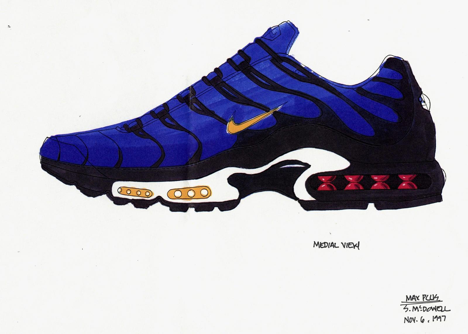Nike Air Max Plus - нерассказанная история кроссовок