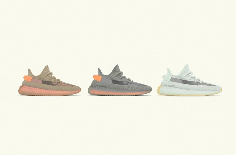 adidas YEEZY BOOST 350 V2 «Clay», «True Form» и «Hyperspace»