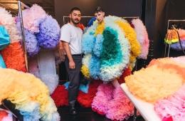 Томо Коидзуми о показе на Неделе моды в Нью-Йорке