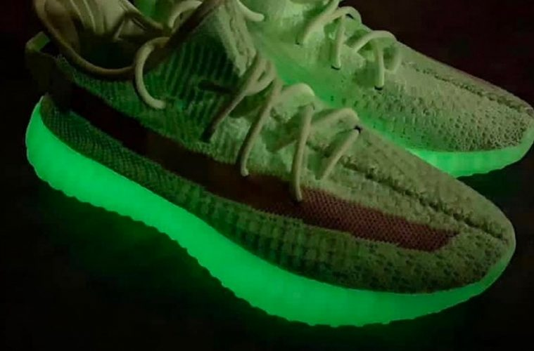 Подробности релиза adidas Yeezy Boost 350 V2 «Glow-in-the-Dark»