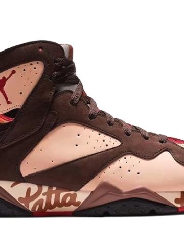 Первый взгляд на кроссовки Patta x Air Jordan 7