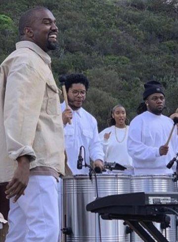 Канье Уэст проведет воскресную службу на фестивале Coachella-2019