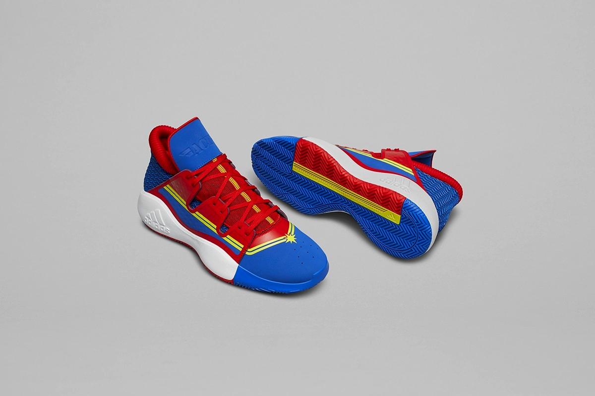 Marvel x adidas Basketball «Heroes Among Us»