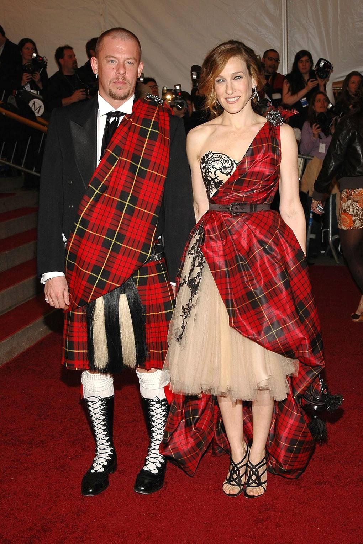 Александр Маккуин и Сара-Джессика Паркер, 2006