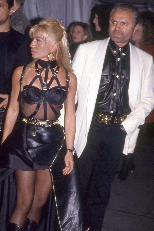 Донателла и Джанни Версаче, 1995