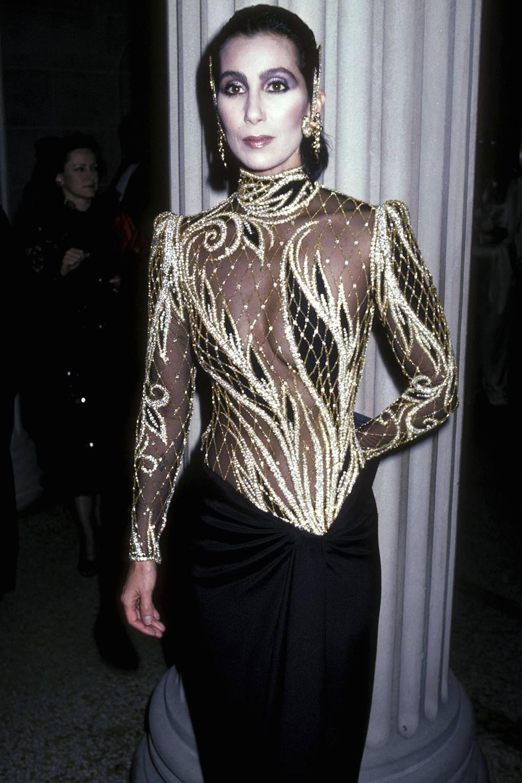 Шер на Met Gala, 1985