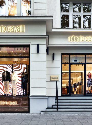 Roberto Cavalli прекратит свою деятельность в США